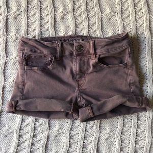 Pants - American Eagle Purple Short